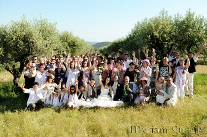 Mariage aux Beaux de Provence