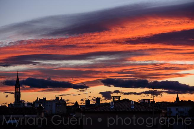 Dans le ciel de Nîmes, Samedi 28 Mars 2015, 20h15.