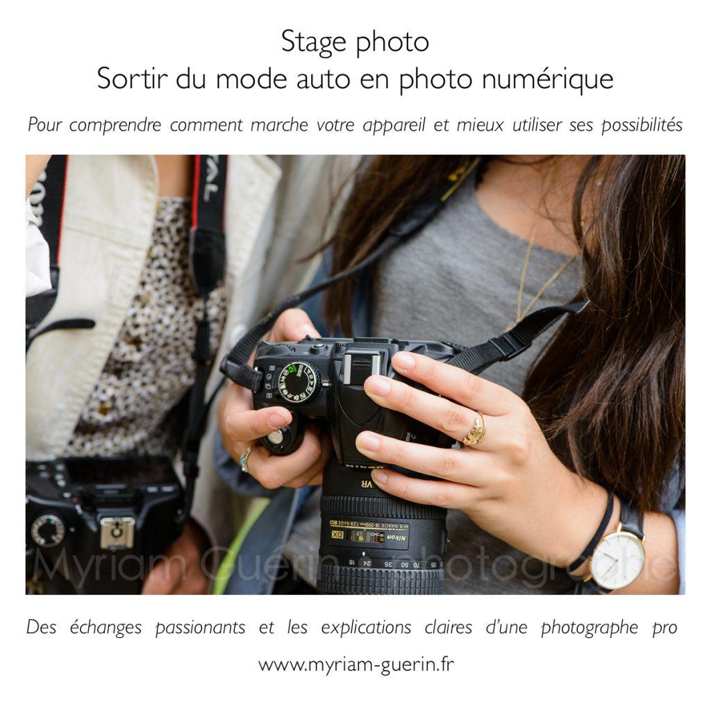 appareil photo stage